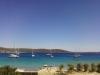 Výhled na moře z balkónu